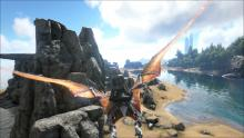 Ride beasts in ARK: Survival Evolved