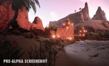 Even in Pre-Alpha, you can see that Conan Exiles is a beautiful open world environment