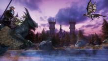 Tame wild beasts in Riders of Icarus