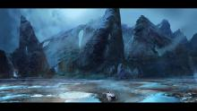 This concept art depicts the massive environments that we can expect from Mass Effect 4