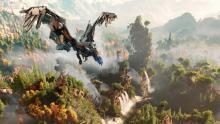 Gorgeous, yet frightful mechanical beasts rule the world in Horizon Zero Dawn