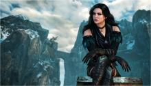 The beautiful sorceress Yennefer was once a hunchback who used magic to fix her back