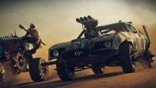 In Mad Max, the races and car battles are action-packed
