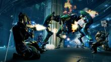 Annihilate gigantic monsters in Warframe