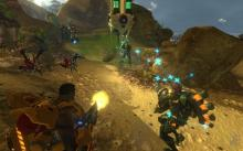Heal your friends and eliminate the enemy in Firefall