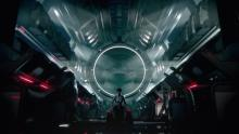 This is the interior of your starship in Mass Effect 4 -- it seems to look much bigger than those in the previous trilogy