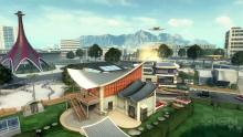Nuketown returned in Black Ops 2 as Nuketown 2025, with a retro theme.