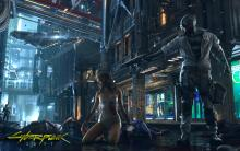 Who is this mysterious woman featured in Cyberpunk 2077?