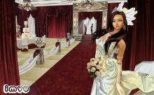 In case you REALLY want to go the distance, you can plan and live your perfect wedding inside the virtual world of IMVU.