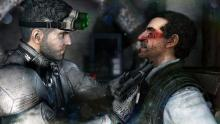 Sam Fisher using polite persuasion.