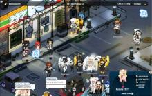 Even virtual convenience stores offer a great hangout place for cosplaying fanatics.