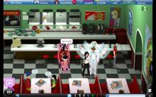 Flo's diner is quite the hot location for otherworldly beings who just wanna chat.
