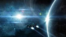Explore a vast, dynamic world featuring over 100 commodities and over 70 upgradeable ships.