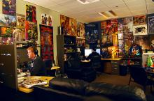 Inside the offices at Blizzard Entertainment