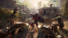 There is endless creative choices with which weapons you use in Shadow Warrior 2.
