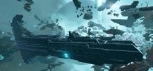 Attacking carriers in Eve Valkyrie tests any pilot's skills.