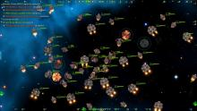 Starsector wars get thick and heavy with dozens of ships.