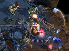 The Terrans mount a powerful defense.