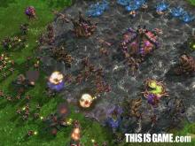 The Terran battle against the Zerg.