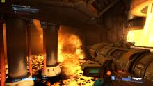 Doom 2016 has extremely harsh environmants that can kill you.