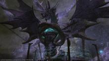 The fearsome fiend, Tiamat, stands ready to fight our heroes to the death.