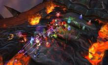 The raid party must struggle atop Deathwing's back to stop its path of destruction.