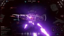 Open fire on all enemy warships in Fractured Space.