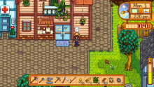 Buy goods and accept quests at the general store in the the town center.
