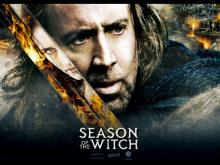 season of the witch, nicholas cage, movie poster
