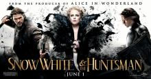 snow white and the huntsman, evil queen, movie poster