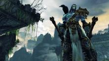 Iconic forces of good and evil battle in Darksiders.