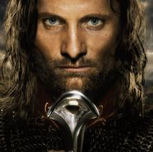 Poster of Aragorn from The Return of the King