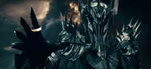 Sauron in His True Form Wielding the Ring