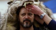 Chris Metzen at the Warcraft movie set.