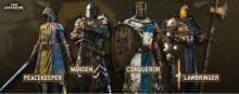 The brave choices of the Knight faction