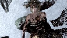 Screenshot of Dead Forsworn Briarheart with Heart in Chest