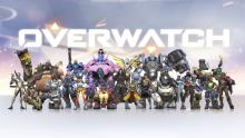 All of the overwatch characters featured in one wallpaper