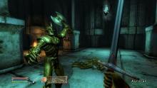 A glimpse of Oblivion's combat system.