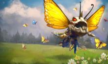 Butterfly Kog'maw skin can be purchased with Riot Points and makes Kog'Maw much prettier.