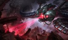 Battlecast Vel'koz takes the already intimidating Vel'koz and gives him a techno slant.