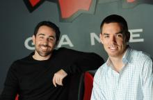 Brandon Beck (left) and Marc Merrill (right), the CEOs and founders of Riot Games
