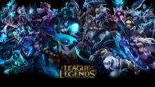 A spread featuring the champions from League of Legends