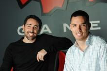 Brandon Beck (left) and Marc Merrill (right), CEOs and founders of Riot Games