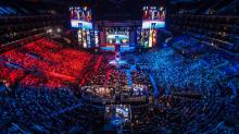 A packed out arena for one of Riot's many eSports tournaments