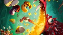 Rayman stoutly faces his foes.