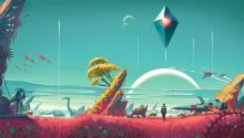 Some official art from No Man's Sky, released August 2016.