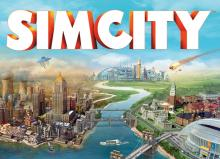 A cover shot of SimCity
