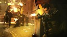 Adam Jensen faces threats from all sides.