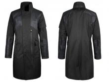 Nylon Fabric has been used to create the shell of the coat.