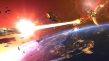 Experience heart pounding space combat in HD